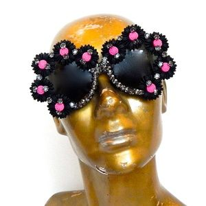 WICKED GARDEN RHINESTONE DONOVAN GLASSES NEW